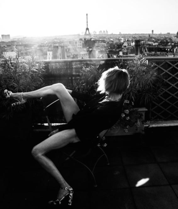 Ines Diarte fotografiada en Paris (© Vero Thomazo, 2015)