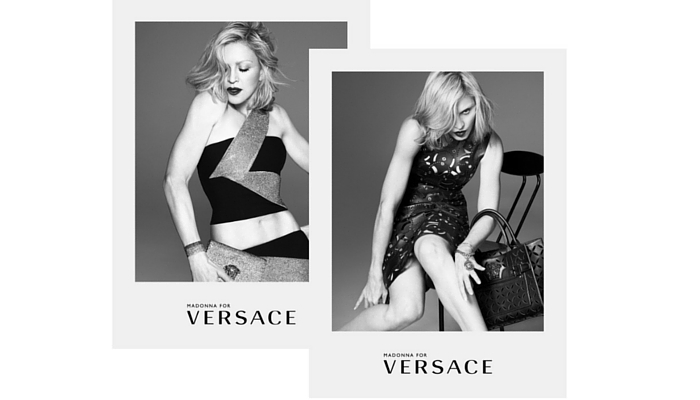 Madonna (1958) para Versace, 2015. Foto: Mert Alas y Marcus Piggott