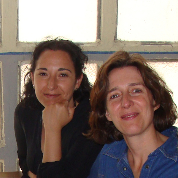 María y Cristina, creadoras de On the 50 Road