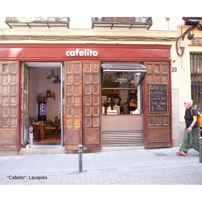"""""""Cafelito"""", en Lavapiés, Madrid"""