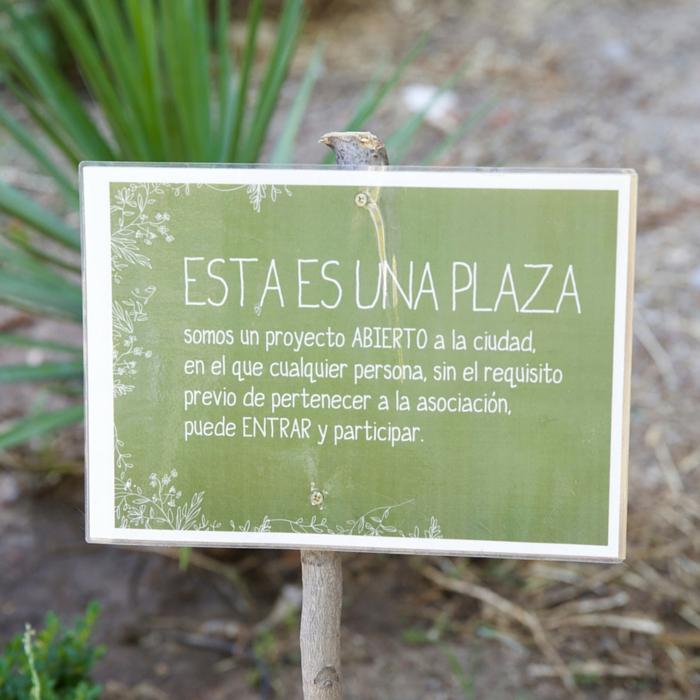 """Esta es una plaza"", huerto  urbano en Lavapiés, Madrid"