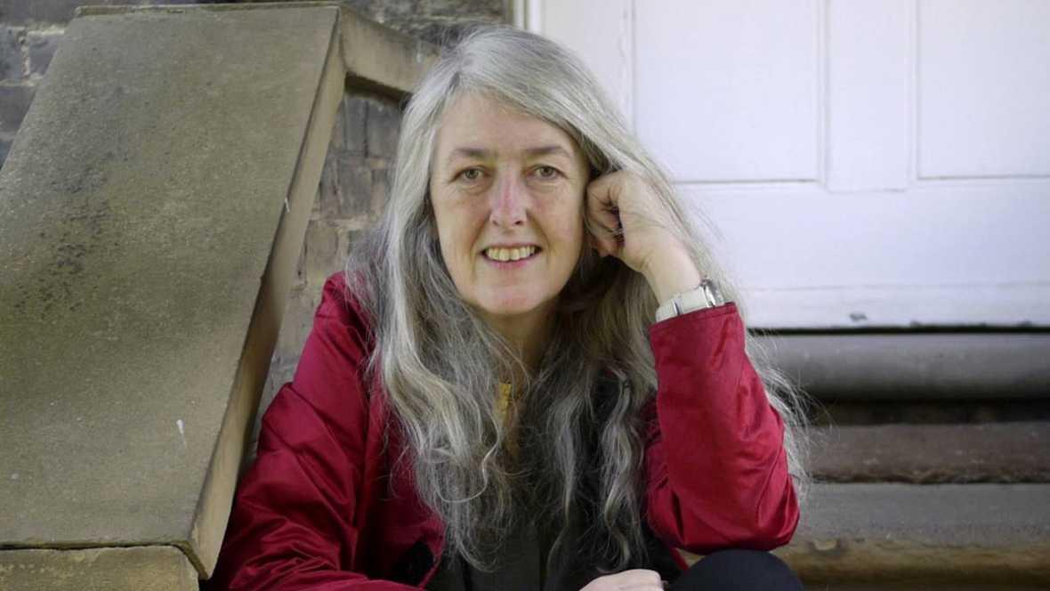 la historiadora británica Mary Beard, Premio Princesa de Asturias de Ciencias Sociales 2016. Foto: Fundación Princesa de Asturias