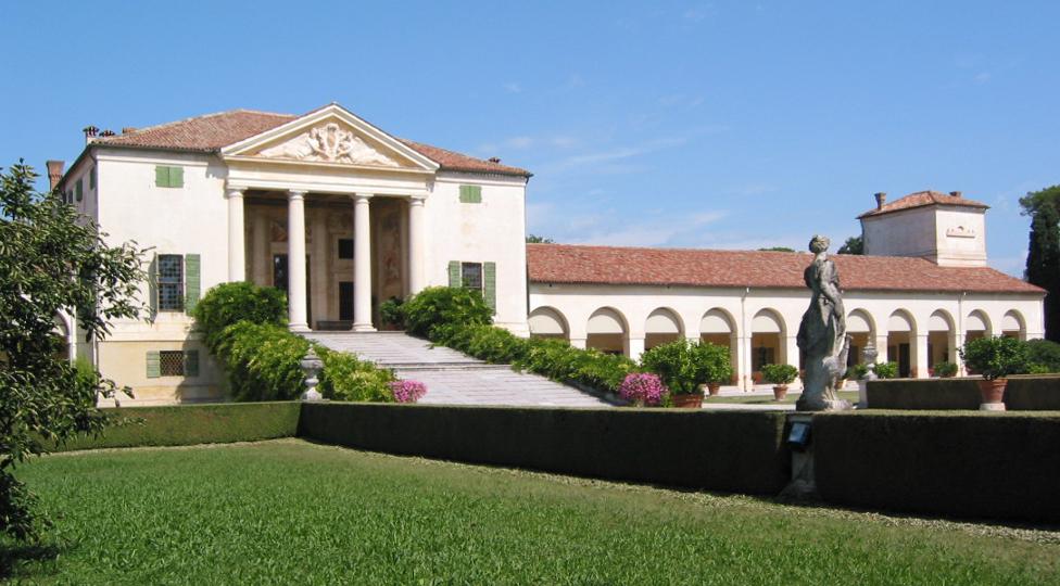 Villa Emo proyectada por Andrea Palladio en Vedelago al norte de Italia. Foto: Aaron Plewke - flicker.com