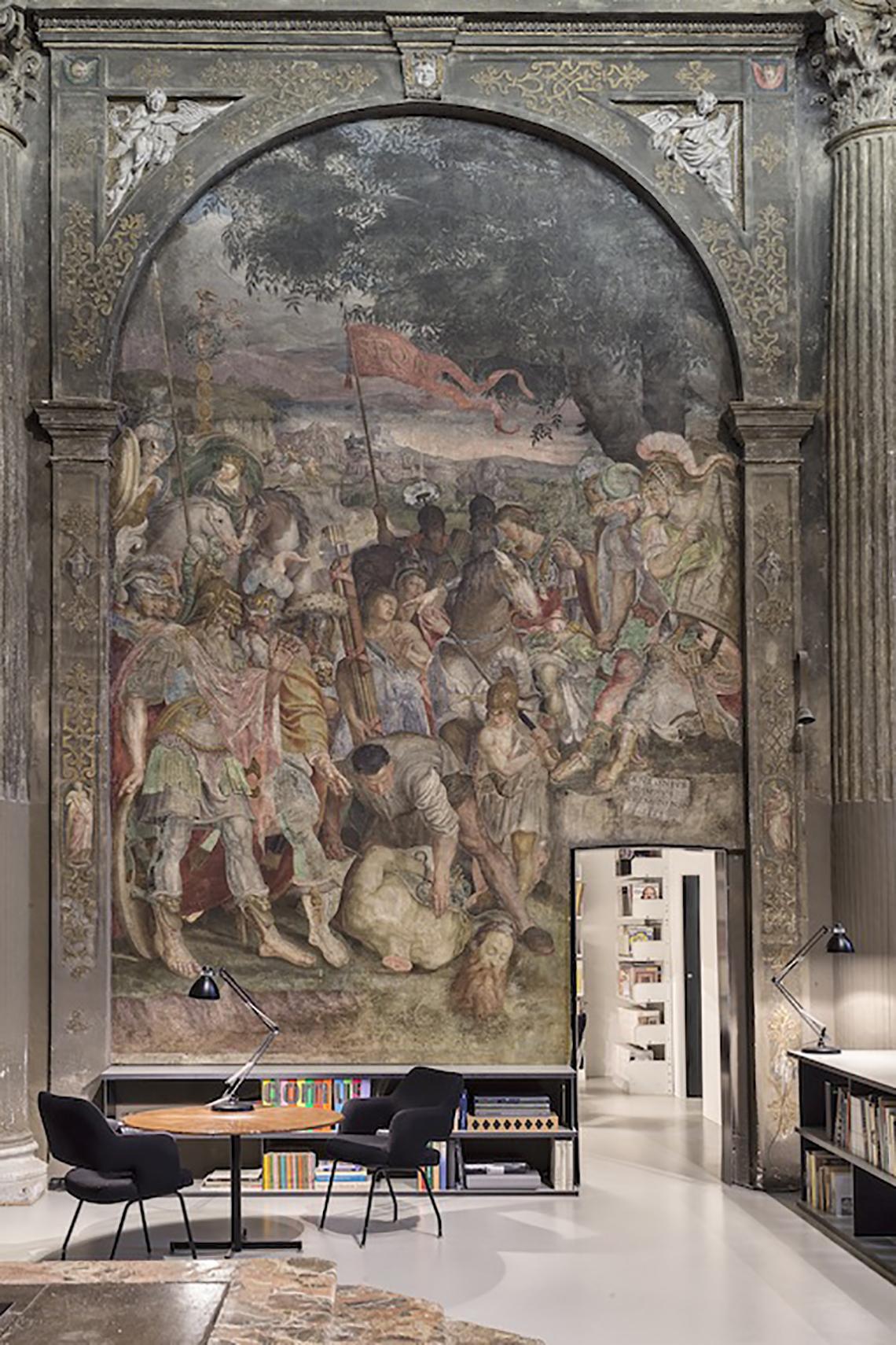 Iglesia San Paolo Converso, la nueva sede del estudio de arquitectos CLS Architetti, en Milán. Foto: CLS Architetti