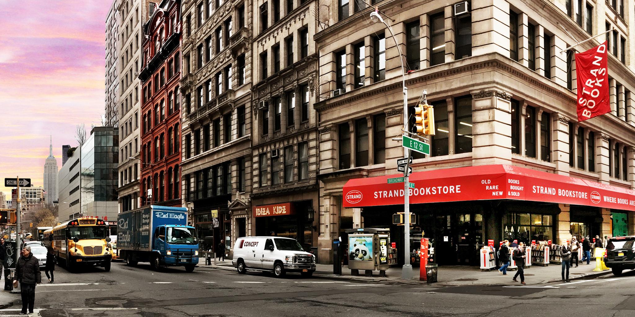 Strand Bookstore en Nueva York. Foto Tyler Merbler - www.flickr.com