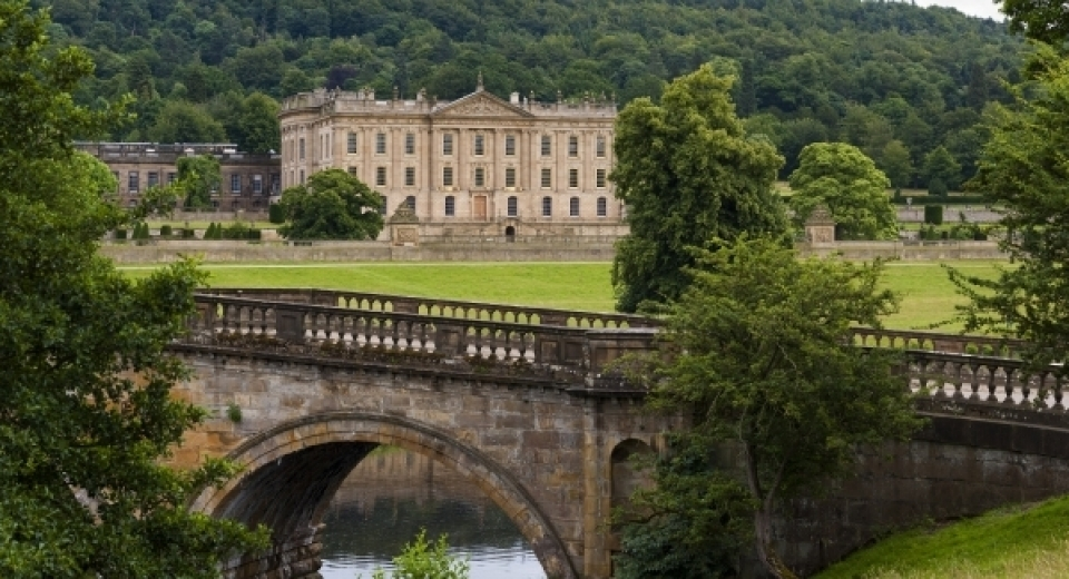 Jardines de Chatsworth, obra del paisajista Capability Brown. Foto: cortesía Capability Brown
