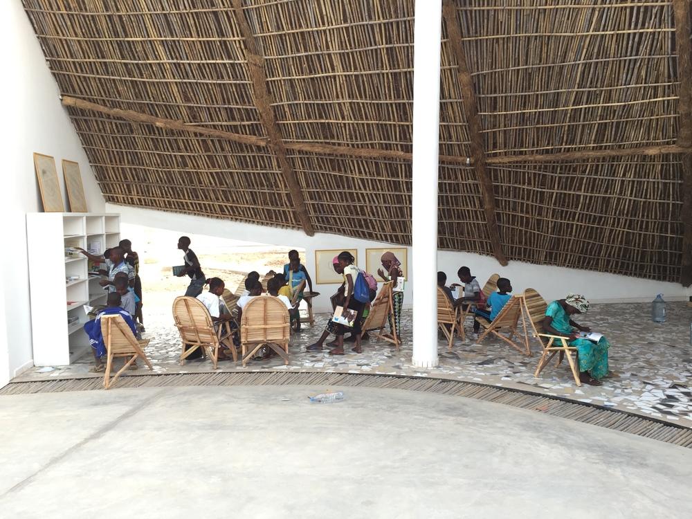Thread: residencia de artistas y centro cultural. Foto: cortesía thread-senegal.org