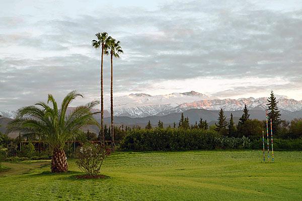 panorámica de ANIMA garden en Marrakech, Marruecos. Foto: cortesía ANIMA, realizada por Stefan Liewehr