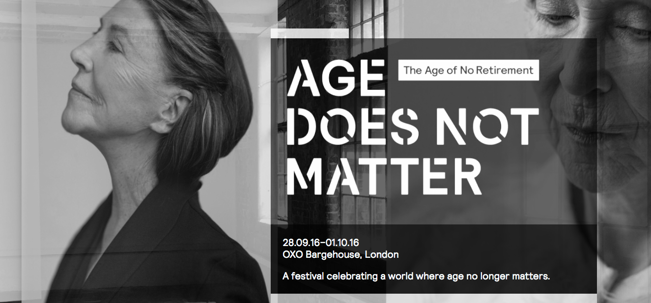 Festival Age Does Not Matter en Londres, 2016