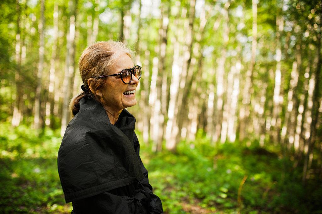 Gloria Steinem. Foto: ©Carly Romeo
