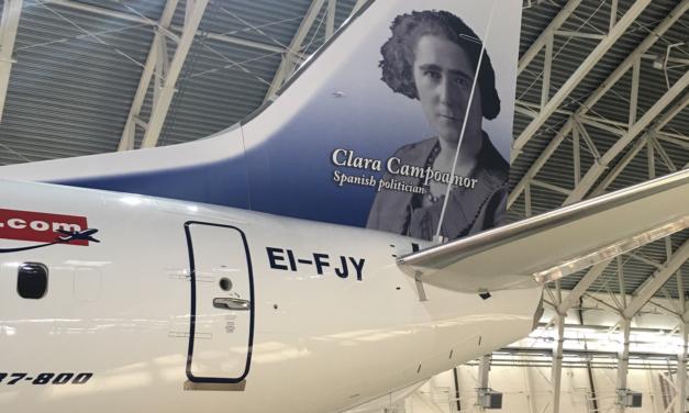 Rosalía de Castro, surcando los cielos con Norwegian