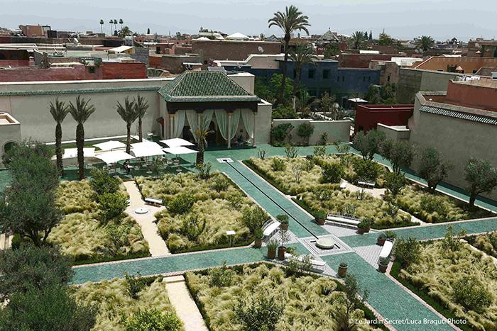 Le Jardin Secret en Marrakech, Marruecos. Foto: Luca Braguti