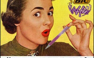 Es verdad, BIC inventó un bolígrafo para nosotras…