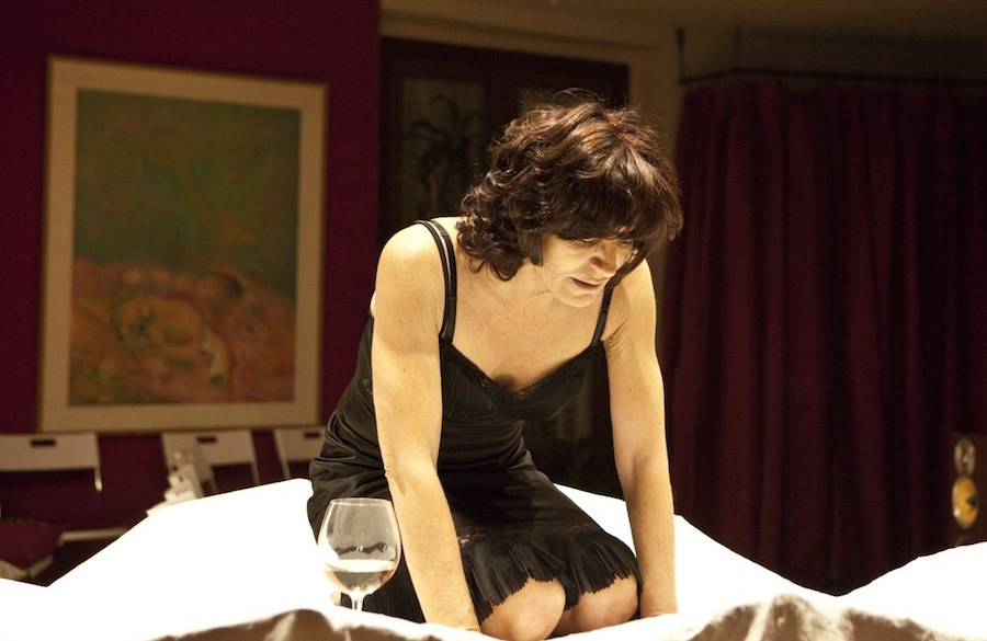 Magnani Aperta, obra de teatro interpretada por Aranxta de Juan en Madrid. Foto:D.R.
