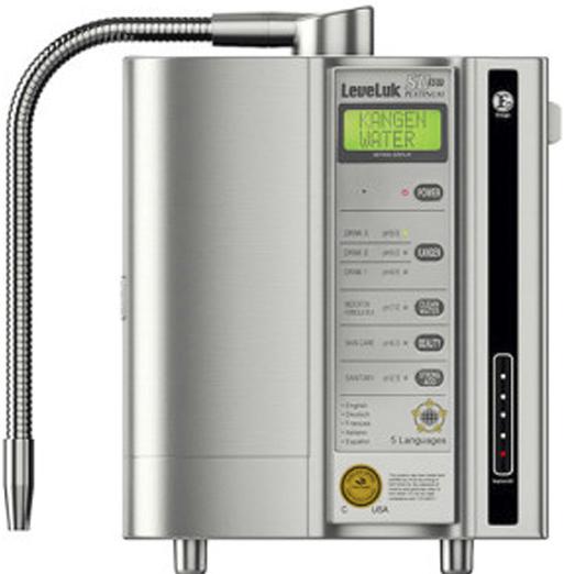 Agua Kangen, modelo LEVELUK SD501 PLATINUM