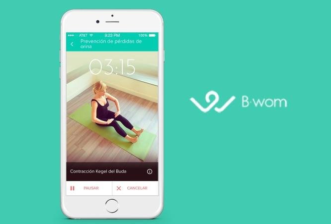 Bwom, app para cuidar tu suelo pélvico