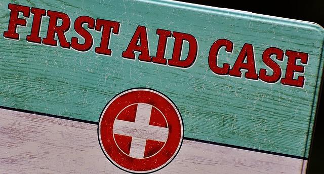 Maletín de primeros auxilios