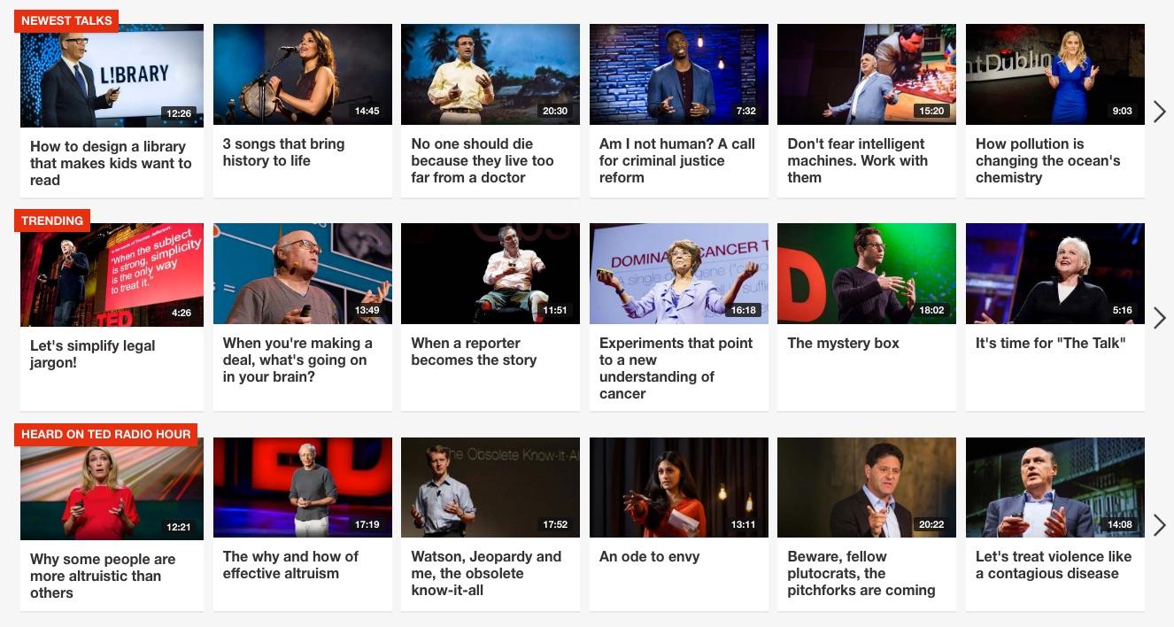 TED.com ideas worth spreading