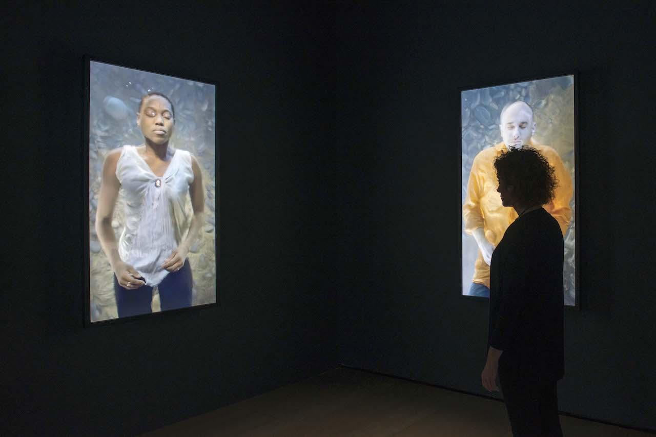 Exposición Bill Viola: a Retrospective, en el Guggenheim Bilbao, 2017