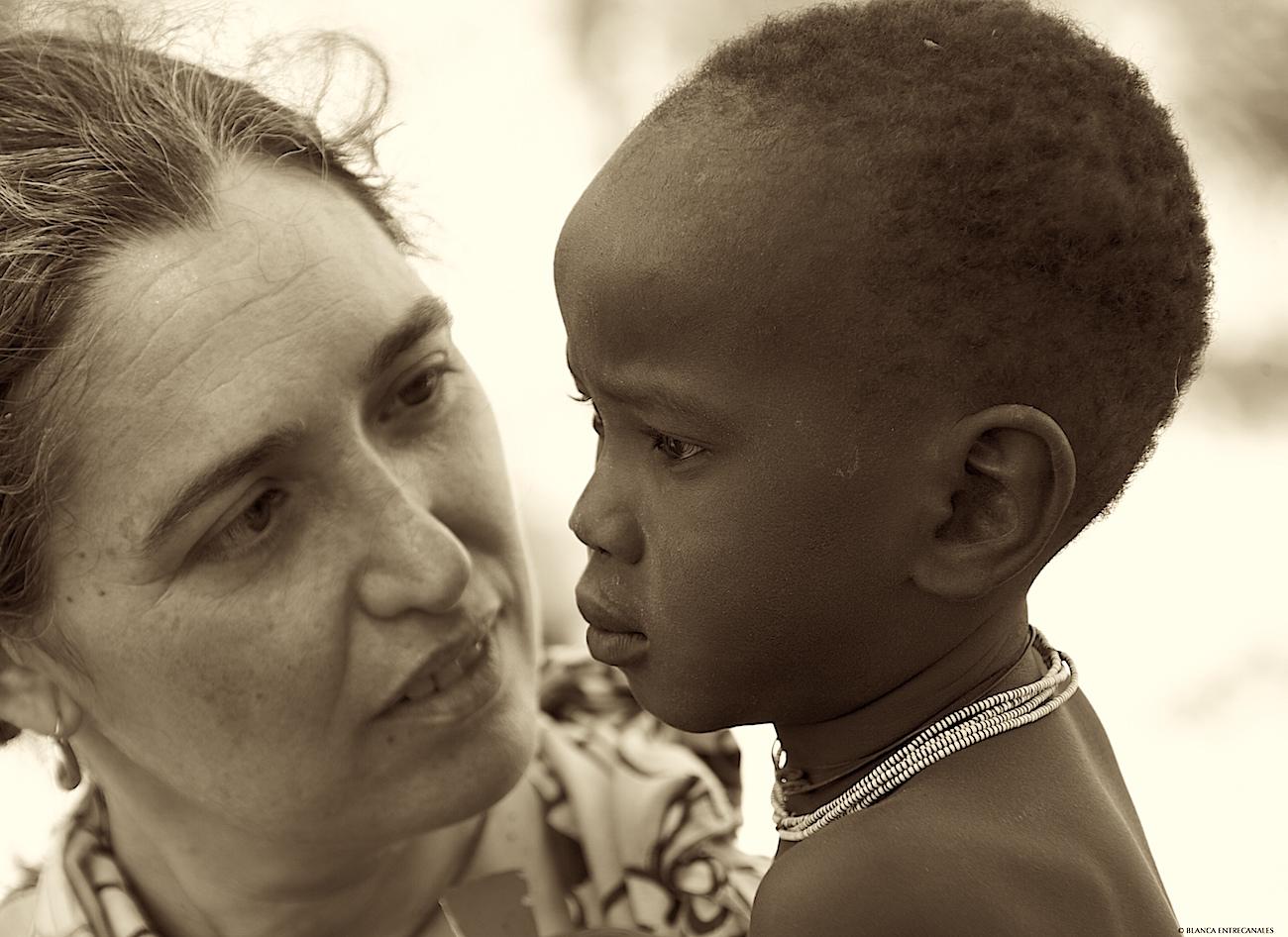 Ana López de Letona en África