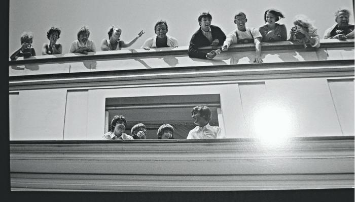 Los Beatles de visita