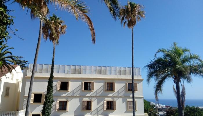 El hotel donde estuve alojada Grand Hotel Villa de France, junto a la Plaza 9 de Abril