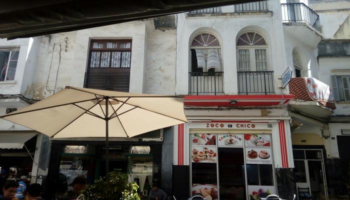 Plaza del Zoco Chico en la Medina