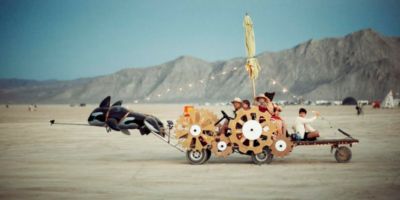 Burning Man 2010. Foto: Christopher Michel