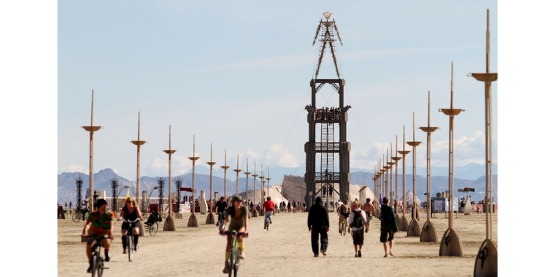 Burning Man 2010. Foto: Mike Q Victor