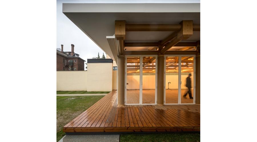 IE Paper Pavilion del arquitecto Shigeru Ban