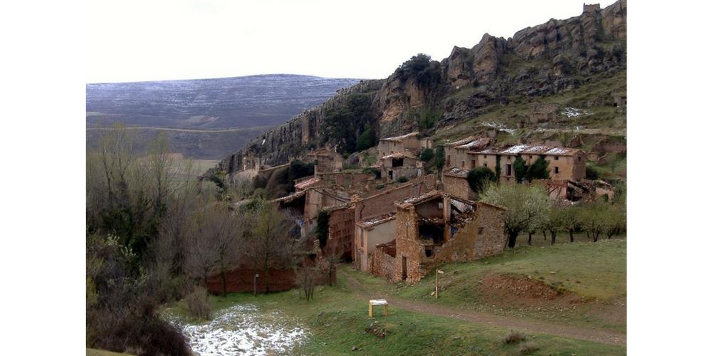 Pardos (Zaragoza). Foto de Faustino Calderón para su blog  Pueblos deshabitados