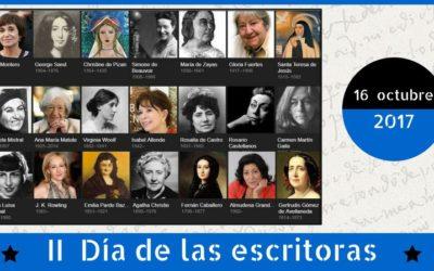 II Edición Día de las Escritoras