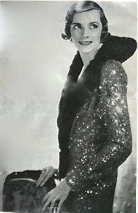 Edwina Mountbatten en 1931, fotografiada por Cecil Beaton