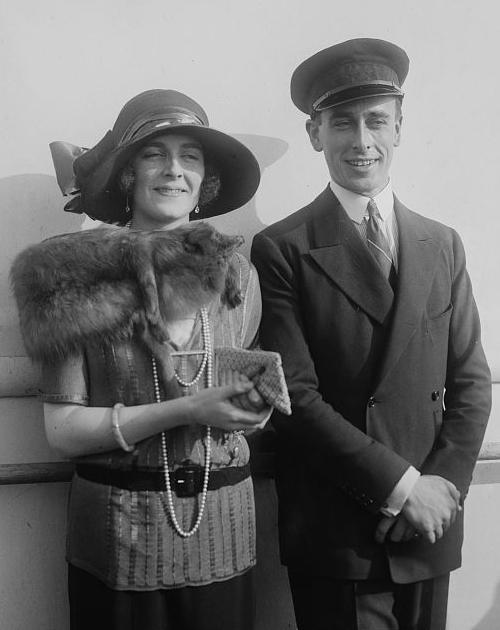 Louis y Edwina Mountbatten, en los felices años 20