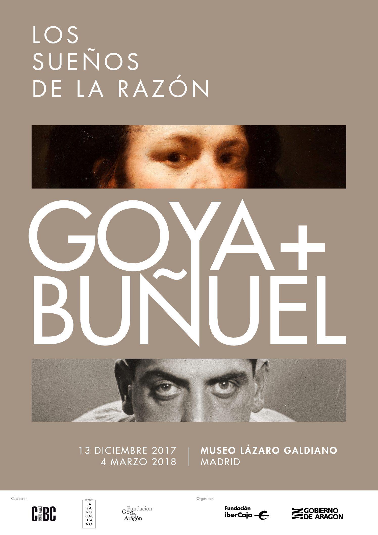 Goya y Buñuel, un homenaje a dos aragoneses universales