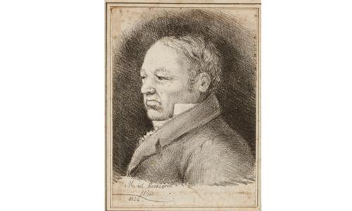 Retrato de Goya, Rosario Weiss, Burdeos 1826. Museo Lázaro Galdiano.