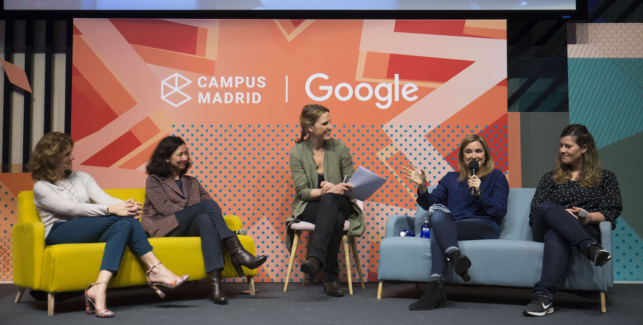 Evento Rompiendo Moldes en Campus Madrid