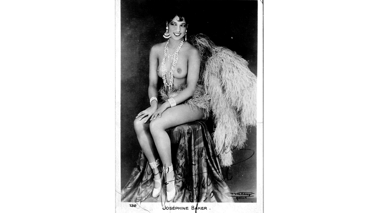 Fot. Maleny. Baker, Jose_phine (Freda Jose_phine Mcdonald, 1906-1975). Bailarina y cantante. Museo Nacional del Teatro (Almagro)