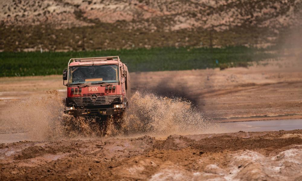 PBX en el Dakar 2018. Foto: Víctor Eleuterio