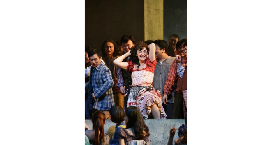 Interpretando Carmen en Pekín. Foto: ©CHNCPA