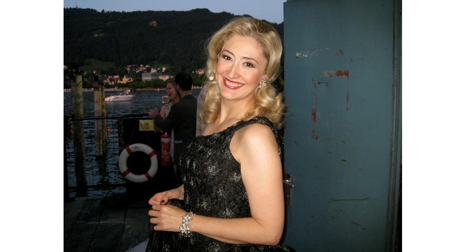 En el backstage de Aida en el Festival de Bregenz (Austria)