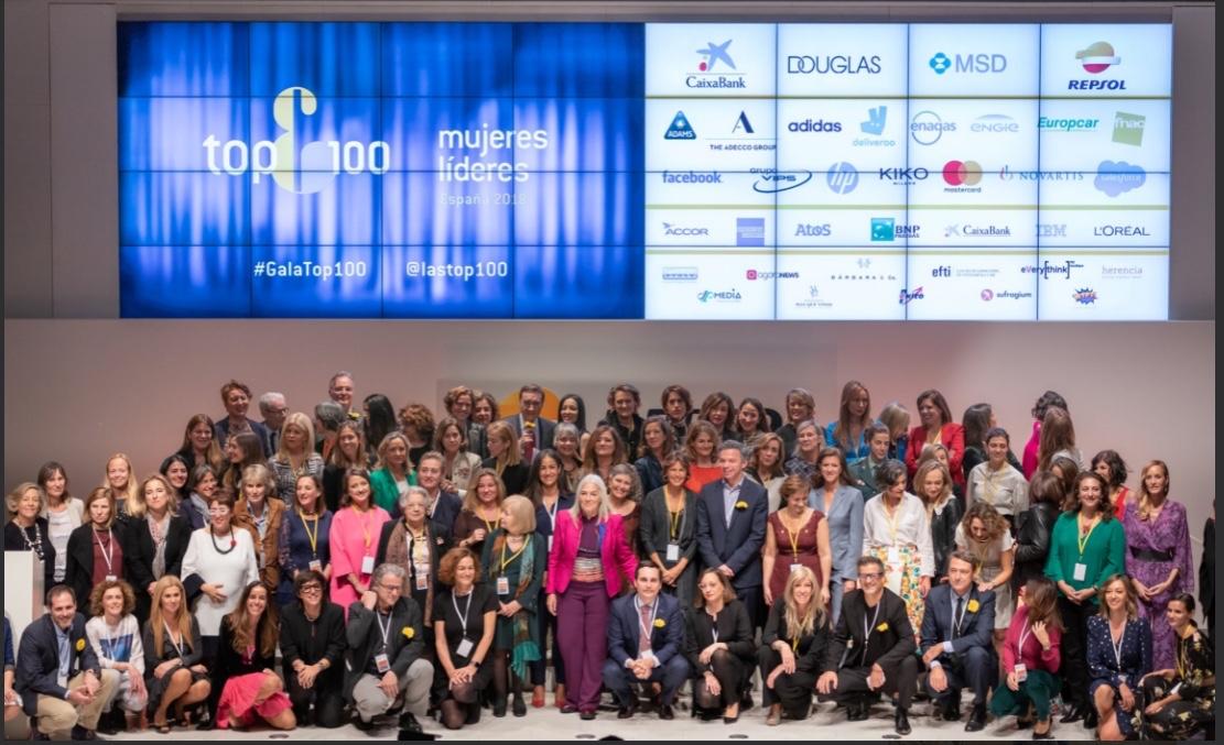 Gala de presentación de las TOP100 Mujeres Líderes en España 2018