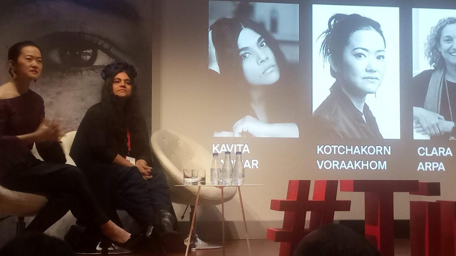 Kavita Parmar, fundadora del IOU Project en el Women Now Summit 2019