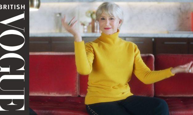 Dentro del bolso de Helen Mirren…
