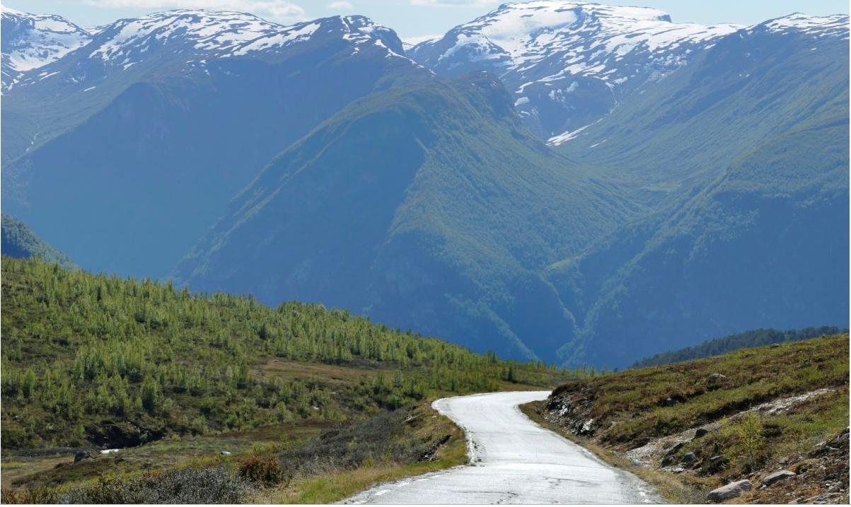 Aurlandsfjellet. Foto de Jarle Waeher
