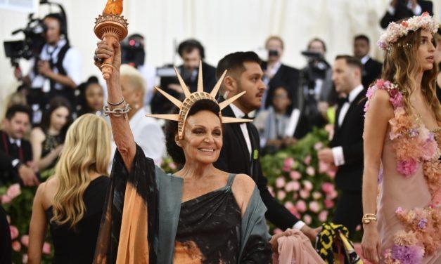 Diane Von Fürstenberg en la Gala MET 2019