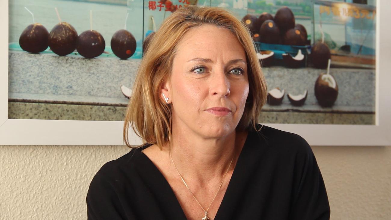 Ana Nance. Retrato de Carlos Cáceres