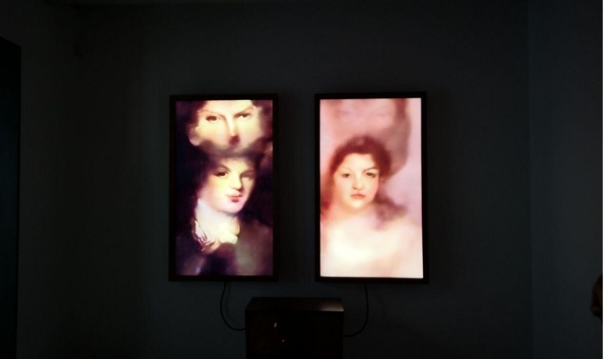 """""""Memories of Passerby 1"""" de Mario Klingemann (Munich) en Espacio SOLO"""