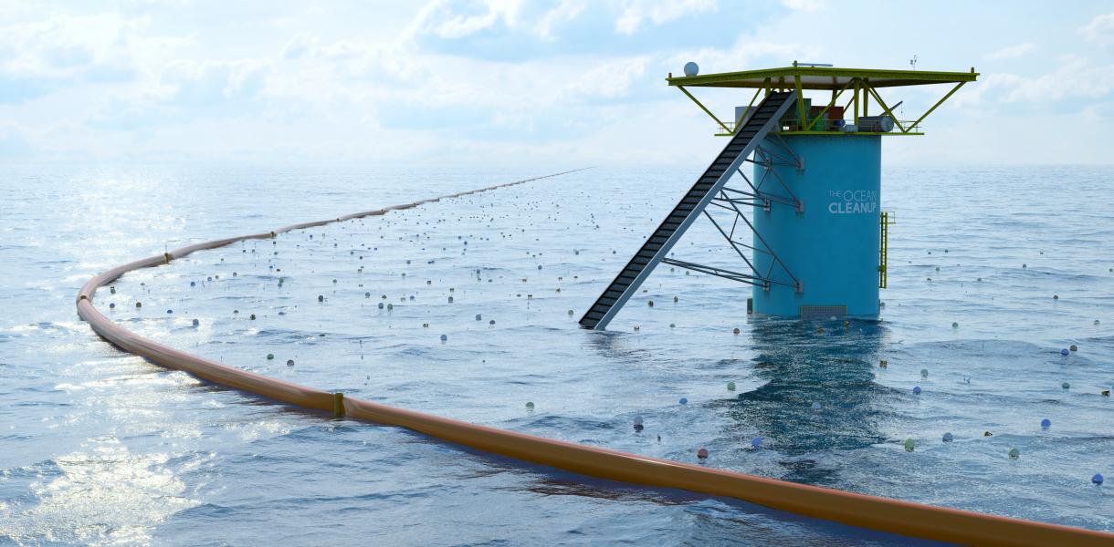 The Ocean Cleanup Array, INDEX Award winner
