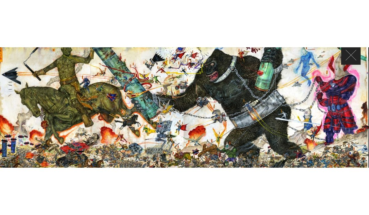 """Loyal Retainer. Final Chapter. Battle without Honor and Humanity"", de Mu Pan (Taichung City, Taiwan) en Espacio SOLO"